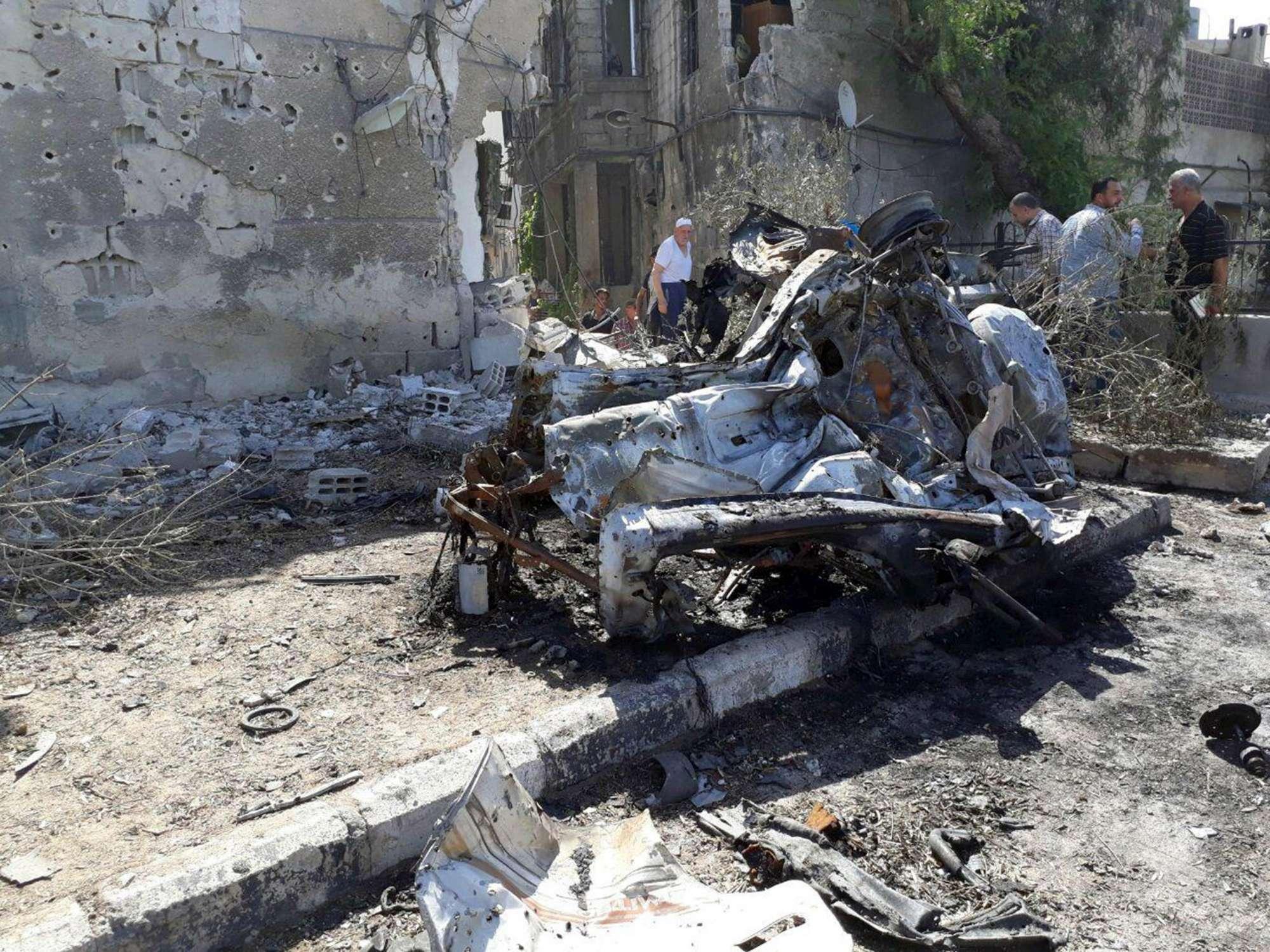 Siria, attentato con tre autobomba nel centro di Damasco