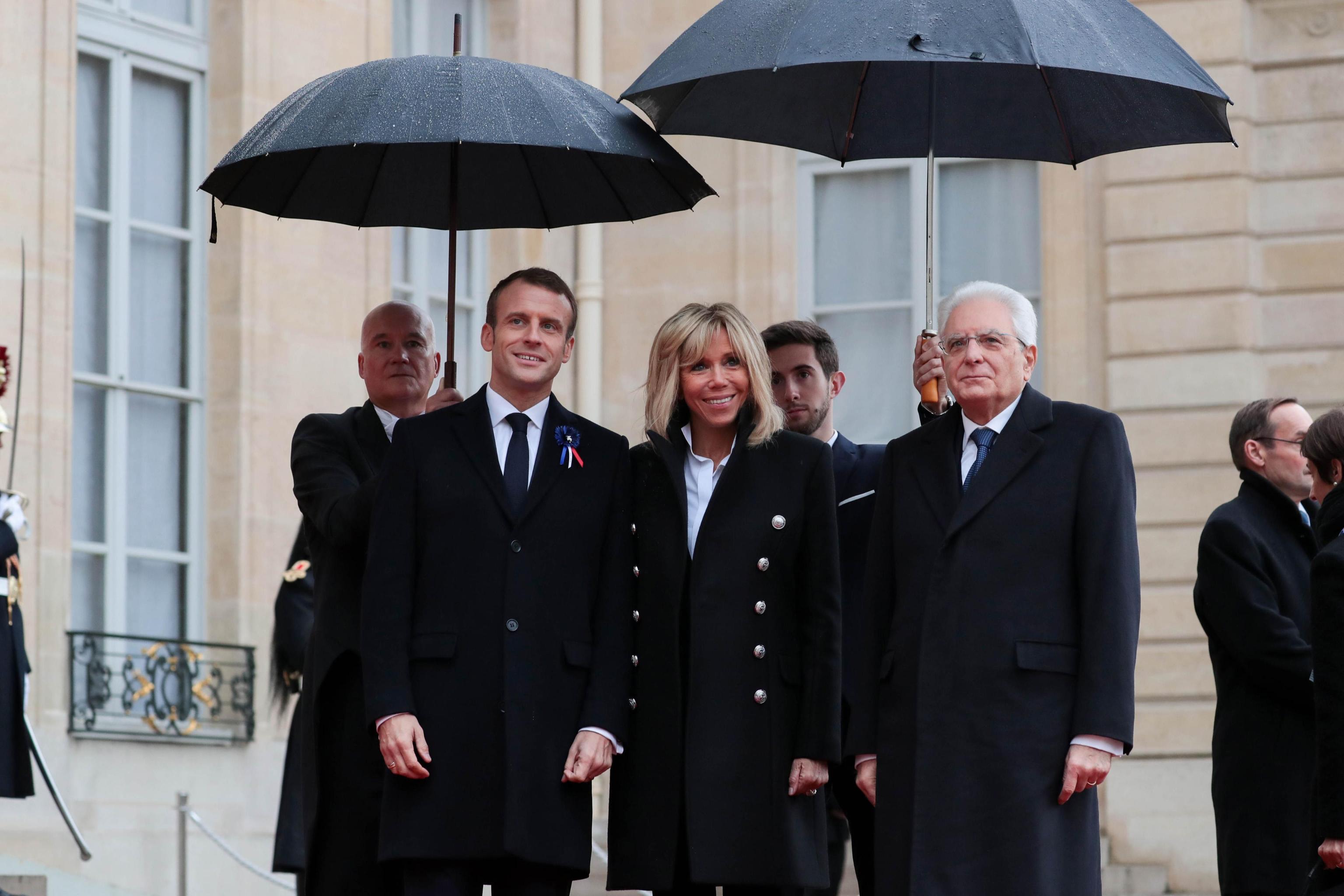Leader mondiali a Parigi per il centenario della fine della Grande Guerra