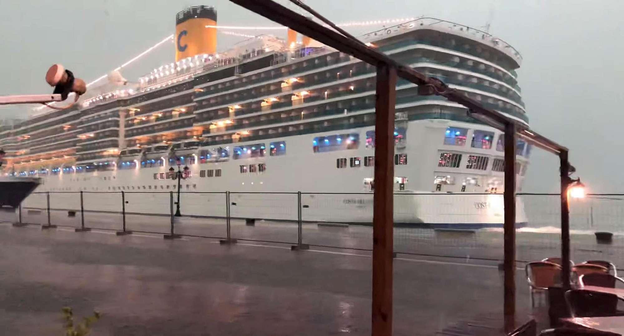 Venezia, sfiorato un nuovo incidente con maxi nave