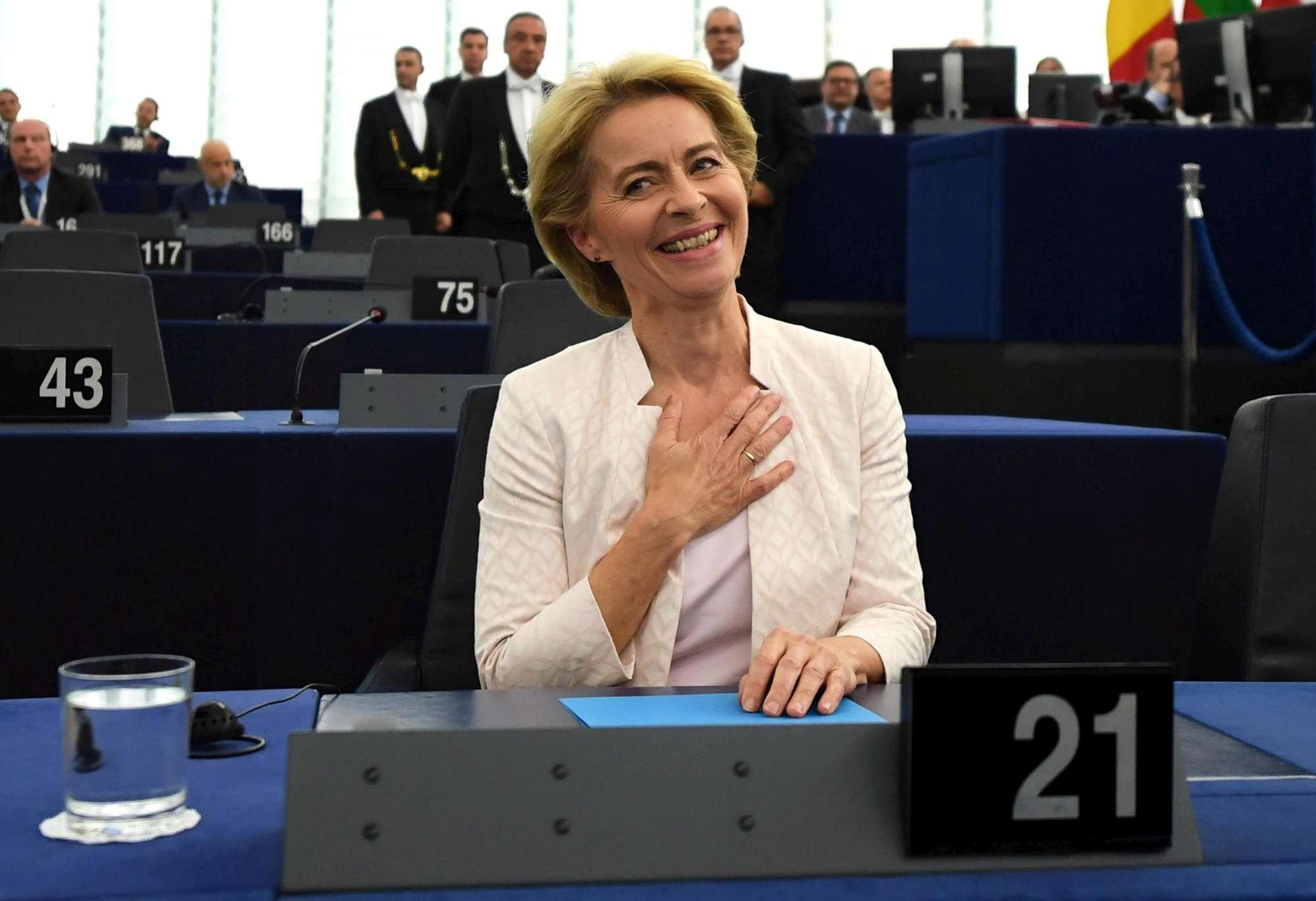 Ue, l elezione di Ursula Von der Leyen