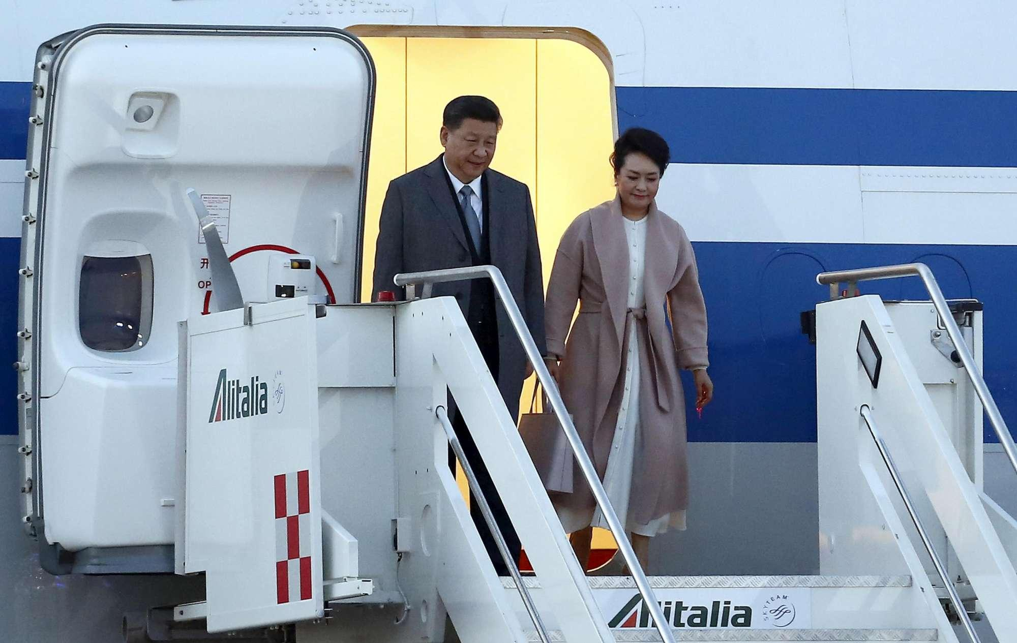 Roma blindata per l arrivo del presidente cinese Xi Jinping