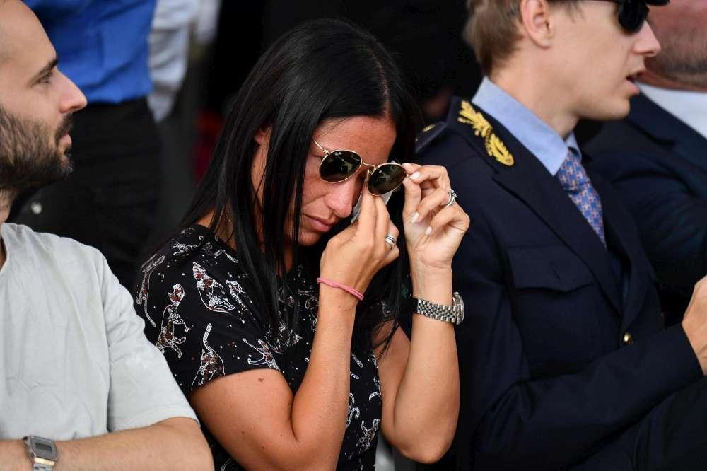 Ponte Morandi, la cerimonia di commemorazione delle vittime un anno dopo il crollo