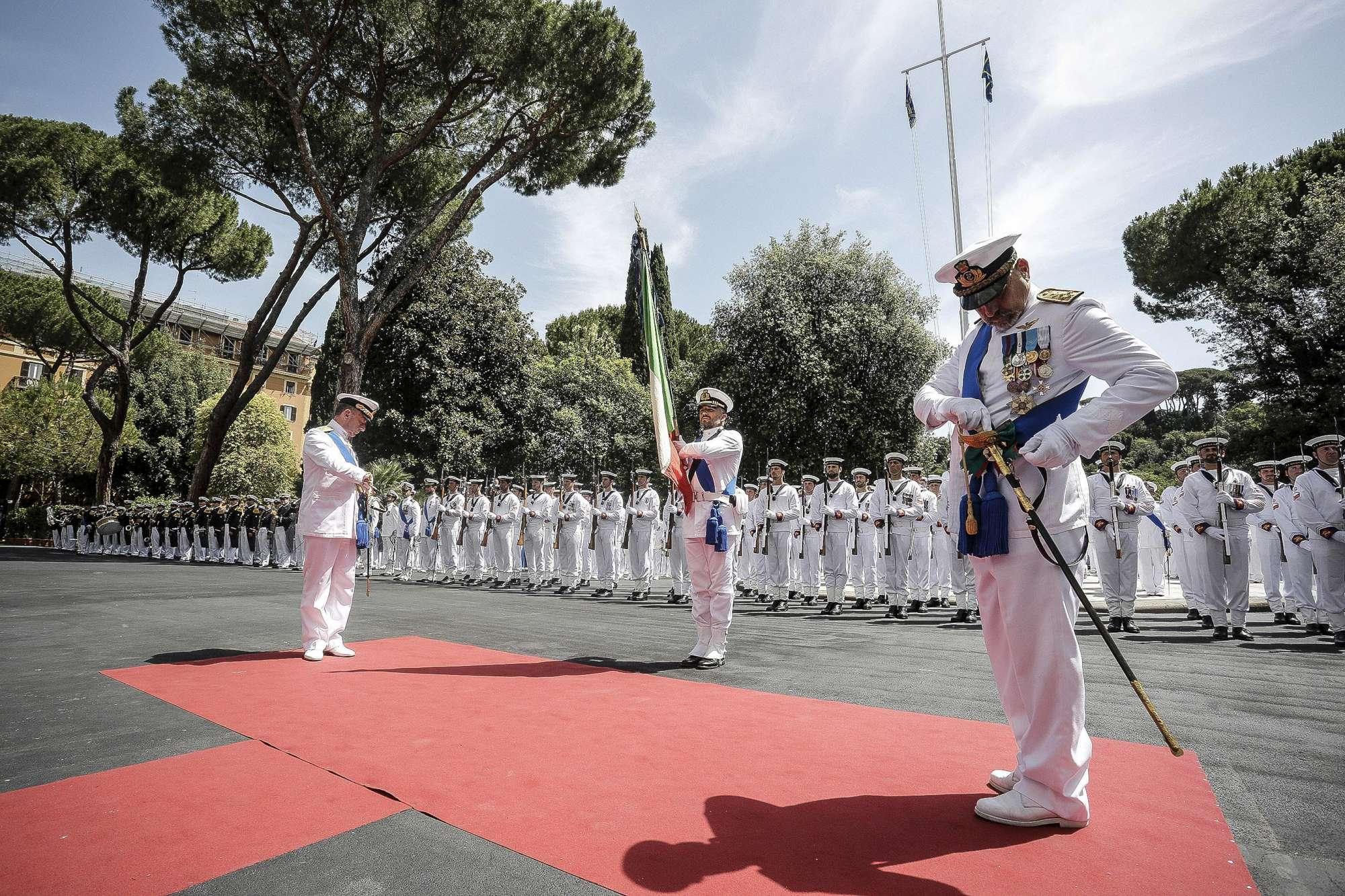 De Giorgi lascia i vertici della Marina Militare