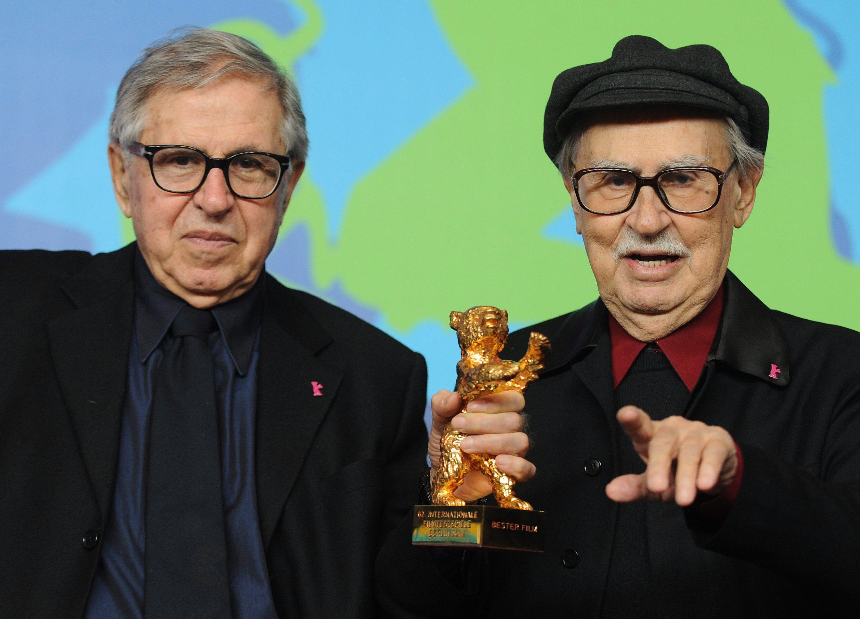 Vittorio Taviani con il fratello Paolo, gli artigiani del cinema italiano dal 1960