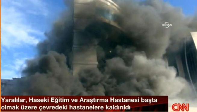 Istanbul, incendio in un hotel