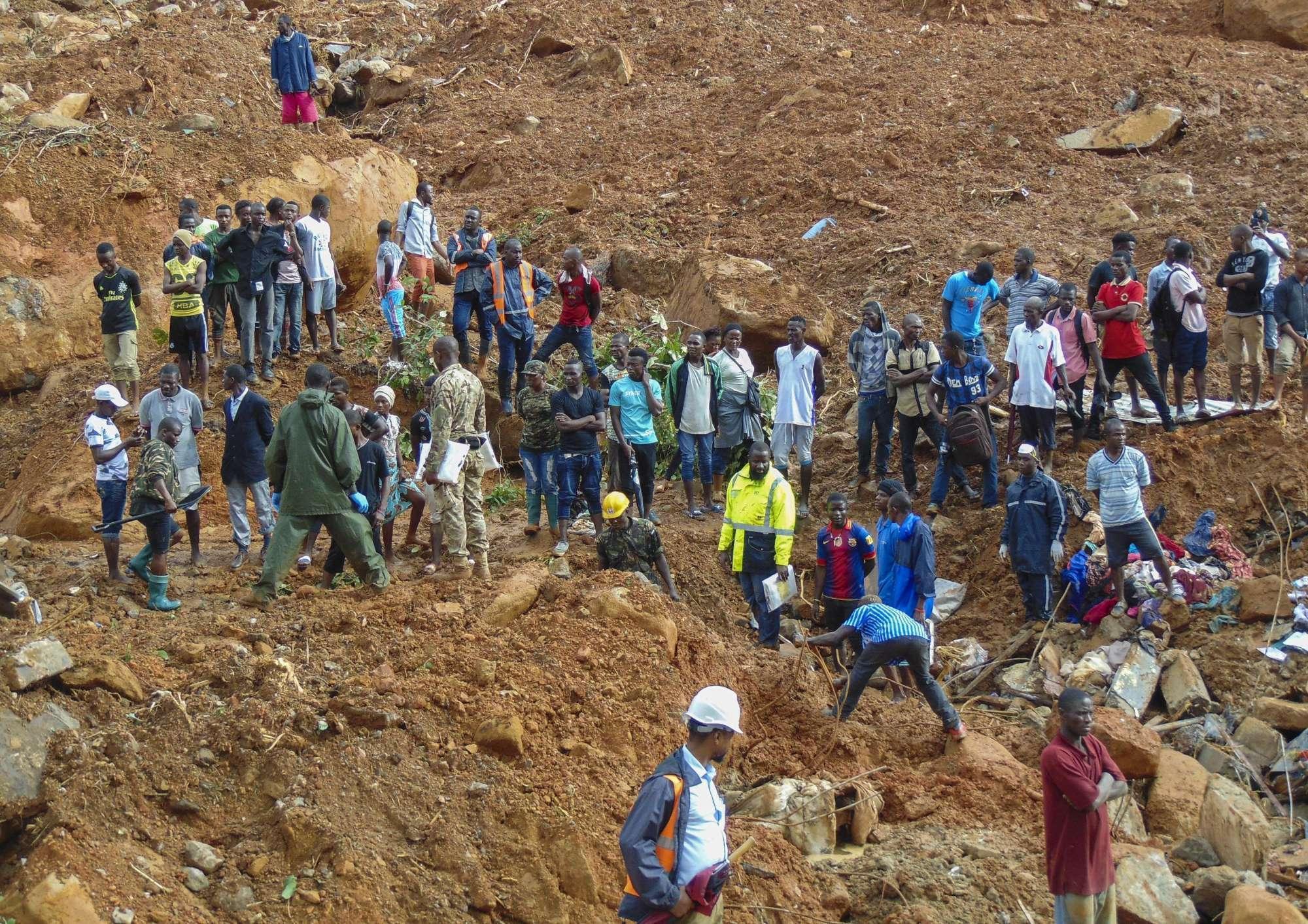 Sierra Leone, si aggrava il bilancio dell alluvione