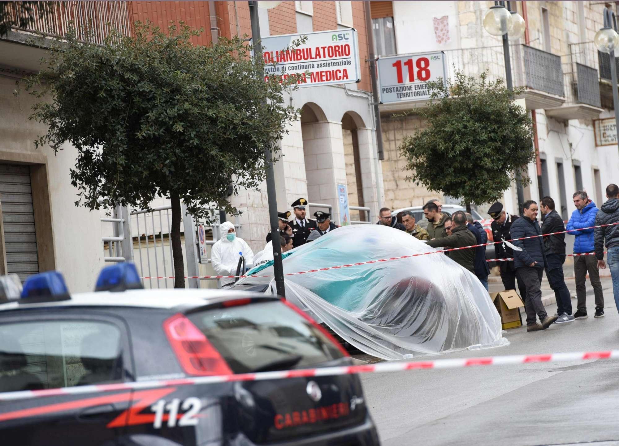 Carabiniere ucciso in una sparatoria nel Foggiano