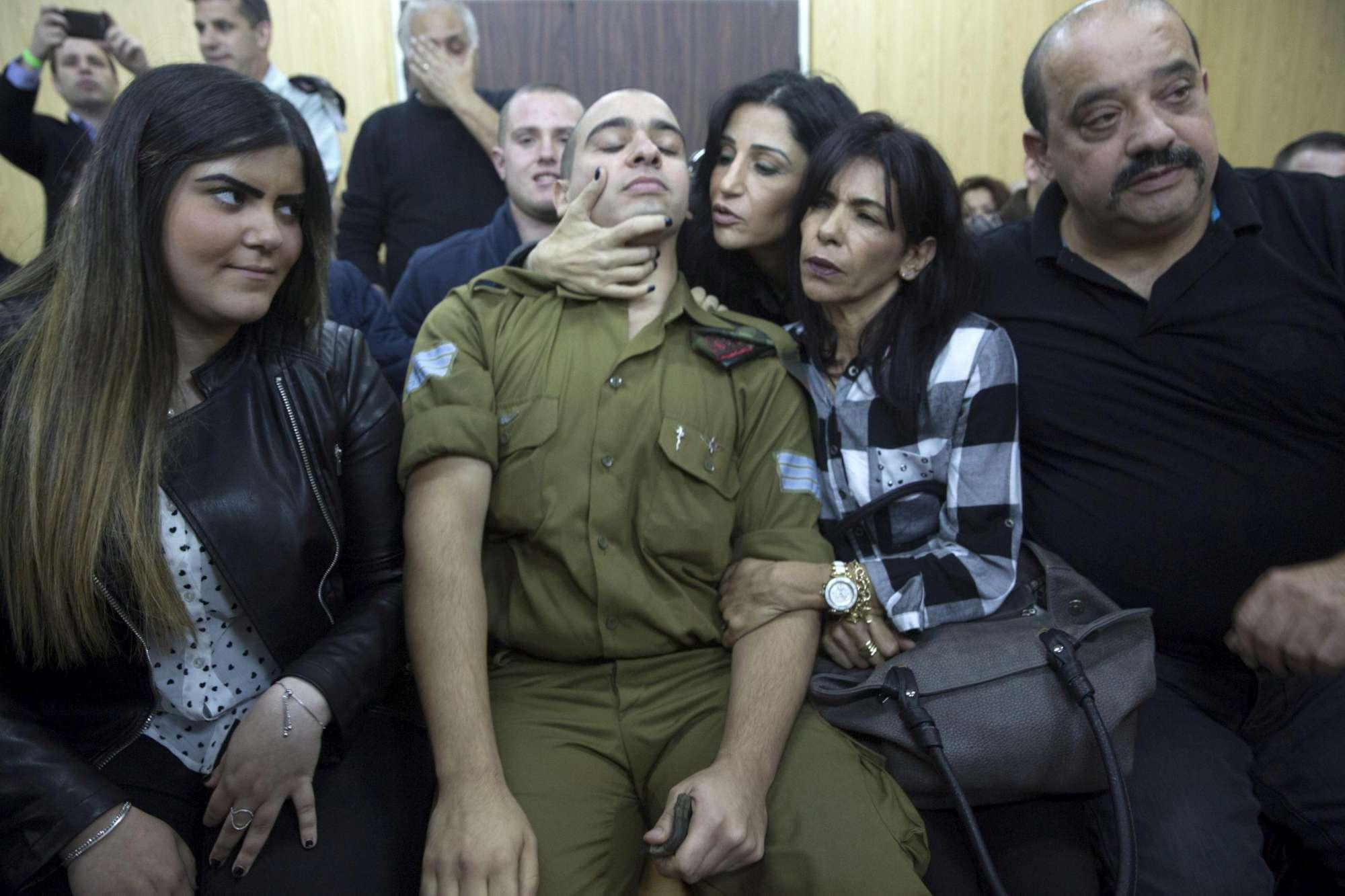 Uccise palestinese, giudicato colpevole il soldato israeliano Elor Azaria