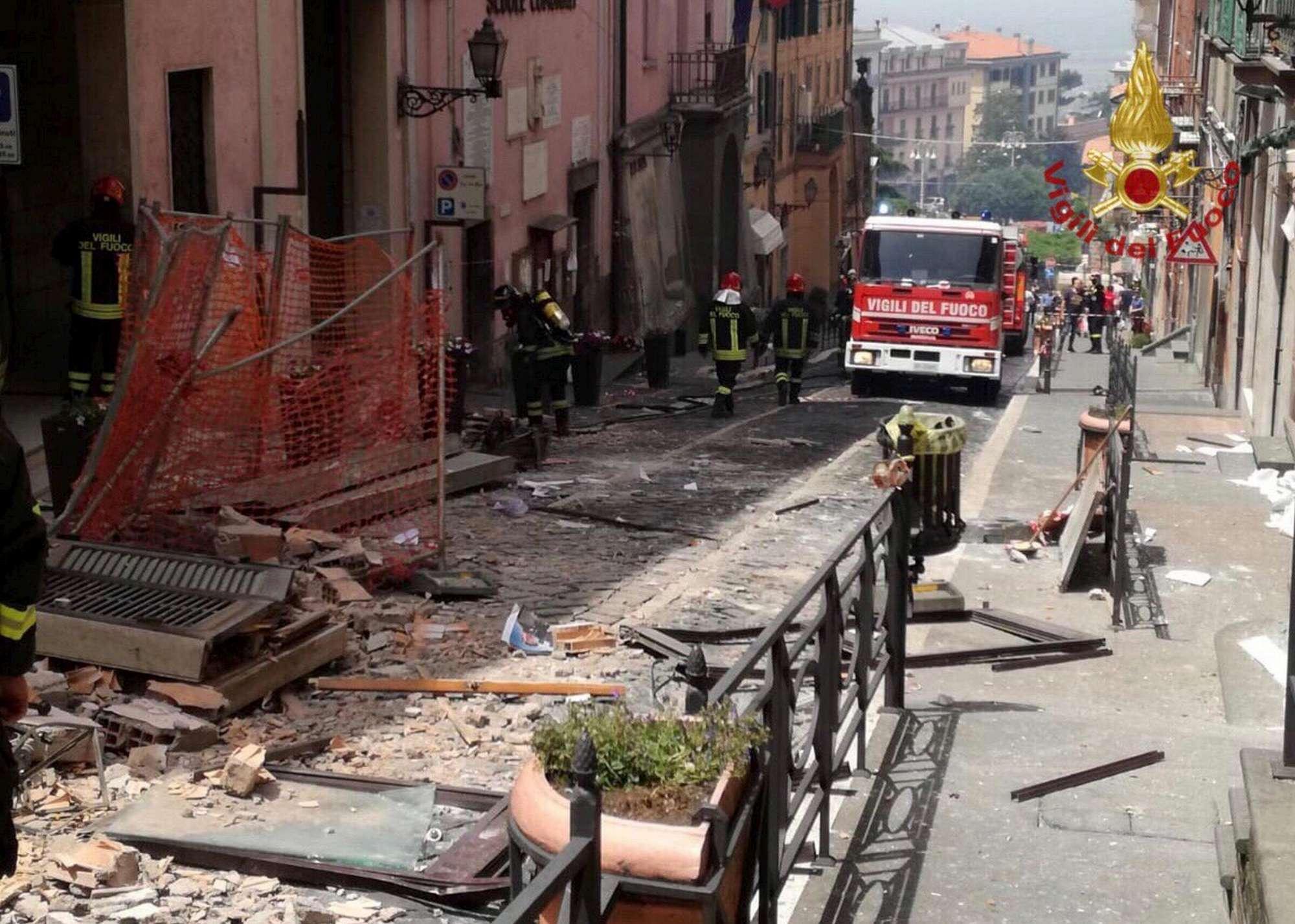 Rocca di Papa, esplosione vicino al municipio