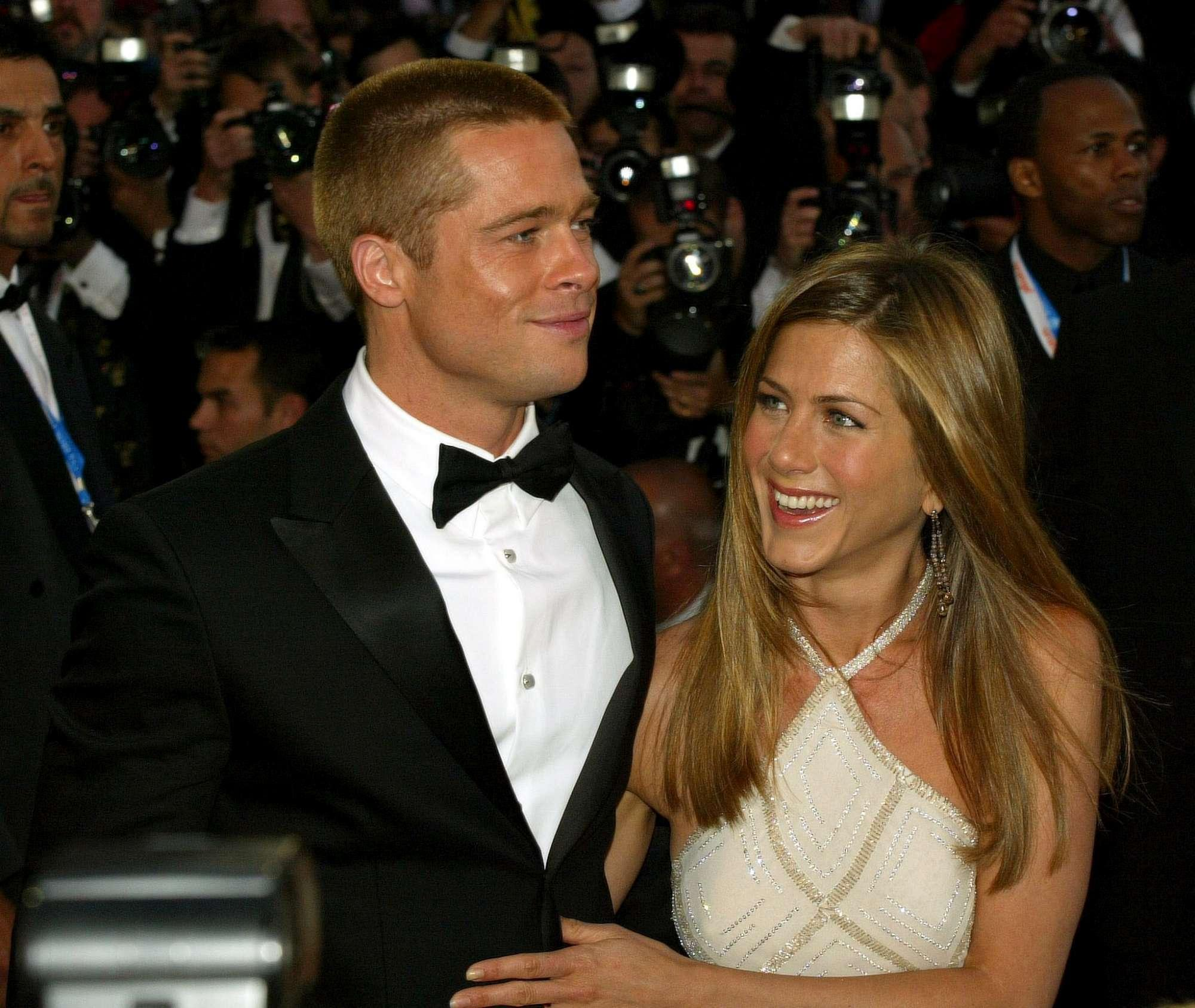 Brad Pitt e Jennifer Aniston, coppia d oro degli anni 2000