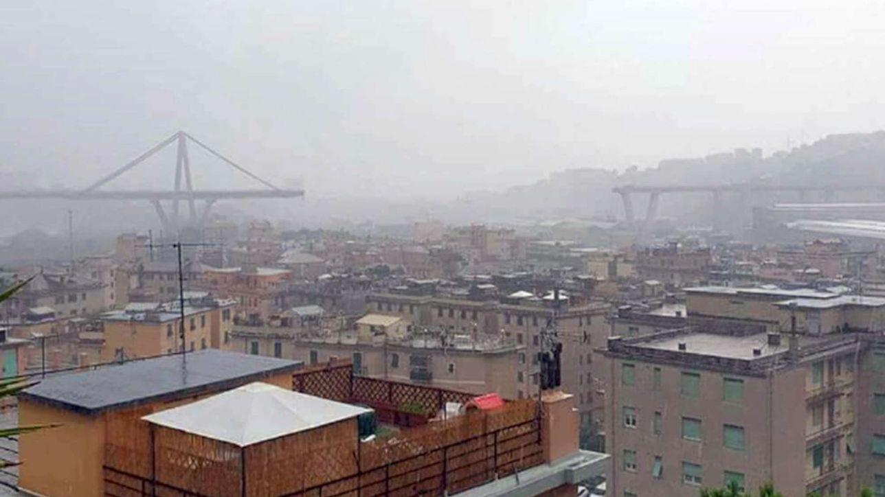 Genova, crollati cento metri del viadotto Morandi