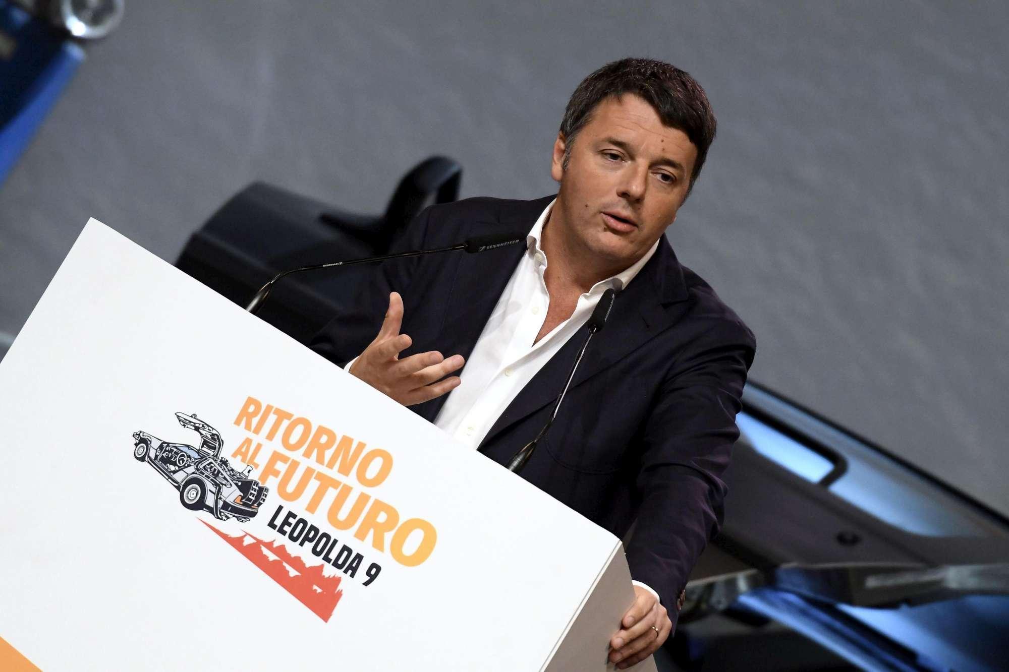 Leopolda 9, affondo di Renzi contro Foa e il governo
