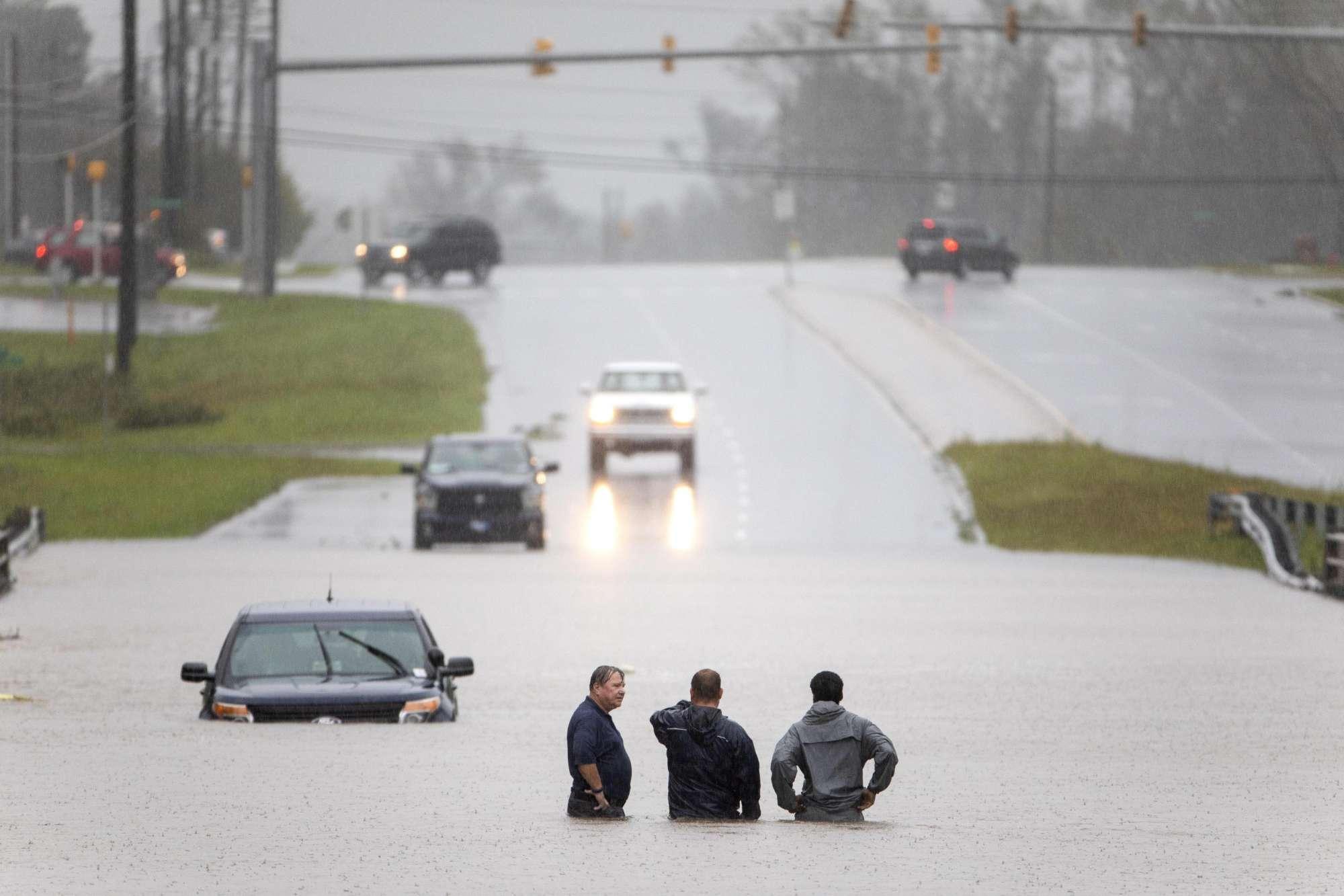 Usa, l uragano Florence mette in ginocchio il North Carolina