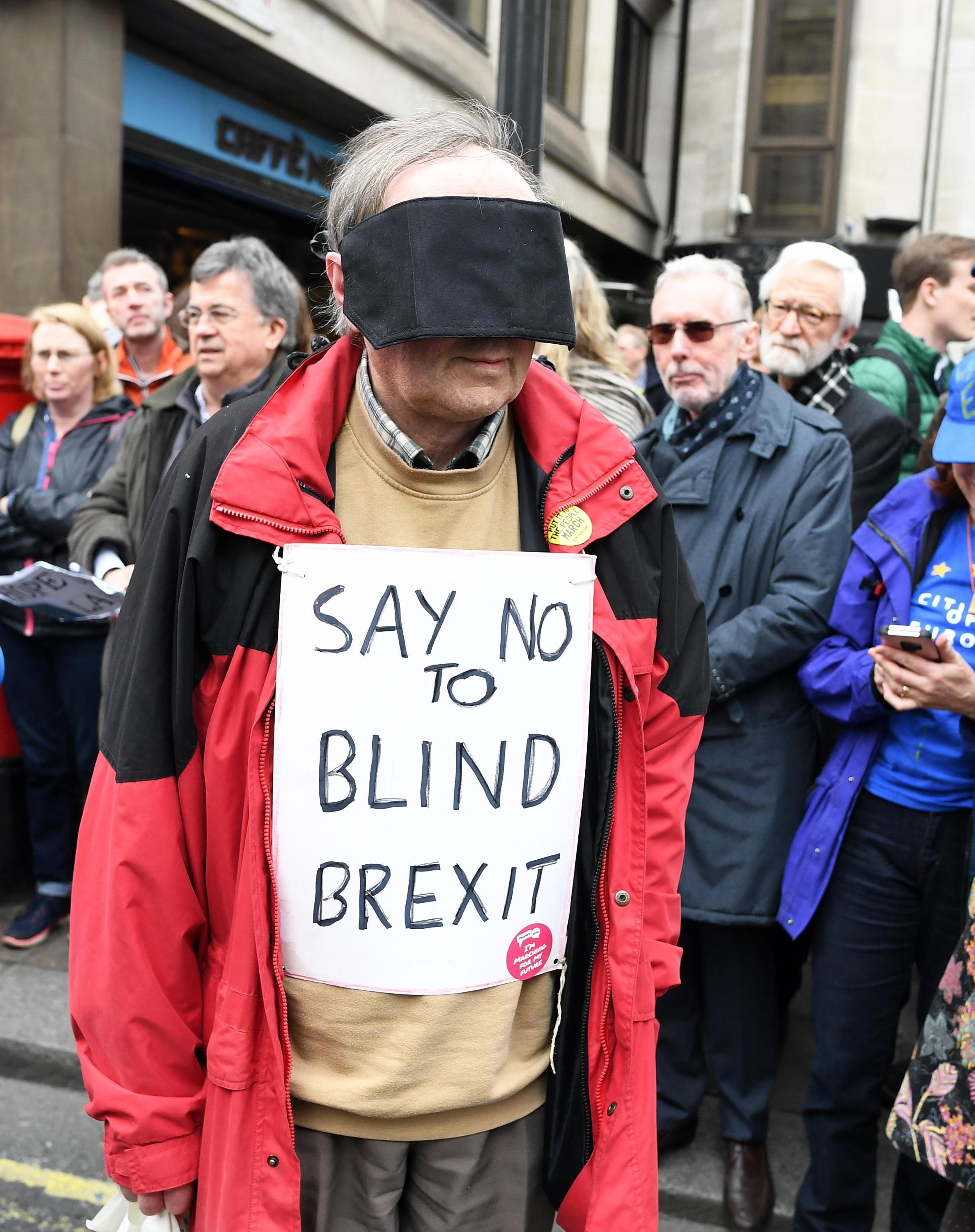 Londra in piazza contro la Brexit