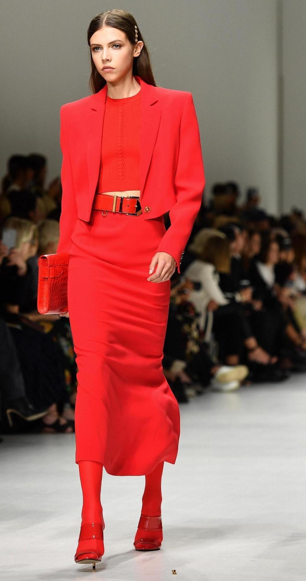 Moda: il bello del rosso