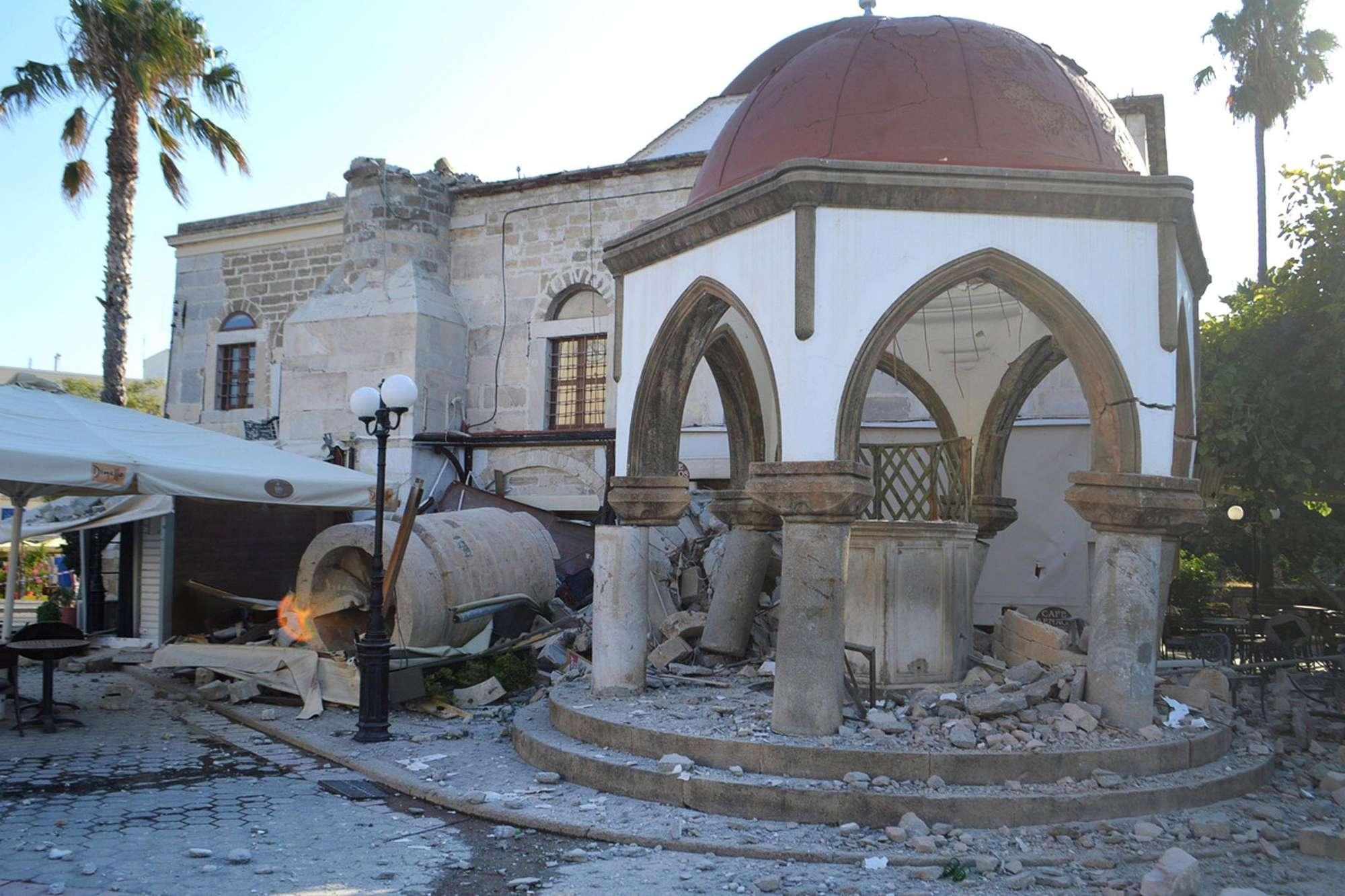 Kos, terremoto di magnitudo 6.7