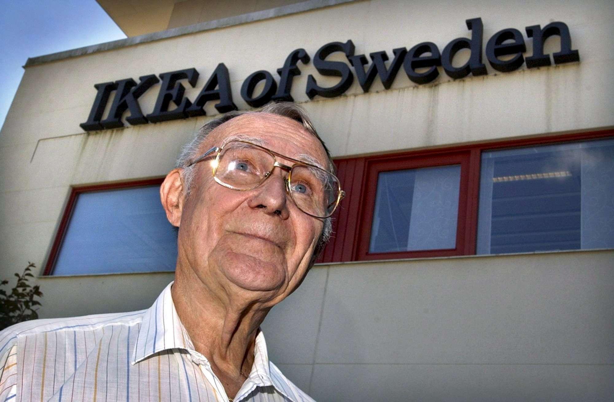 Addio al fondatore di Ikea Ingvar Kamprad