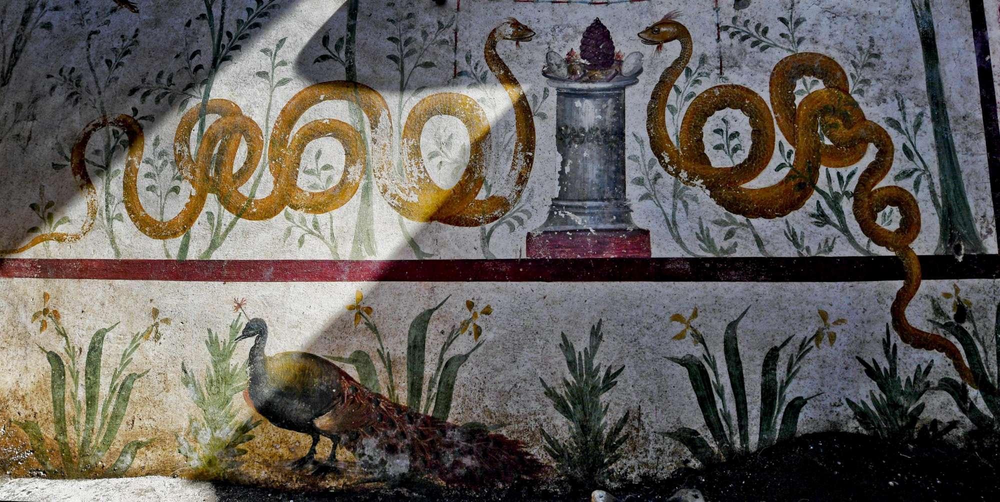 Pompei, l ultimo tesoro: riemerge la casa del giardino incantato