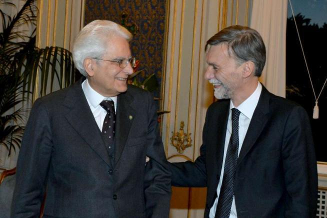 Graziano Delrio ministro delle Infrastrutture, ha giurato al Quirinale