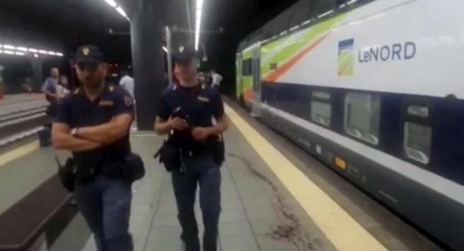 Milano, macchinista e capotreno aggrediti a colpi di machete: arrestati due latinos