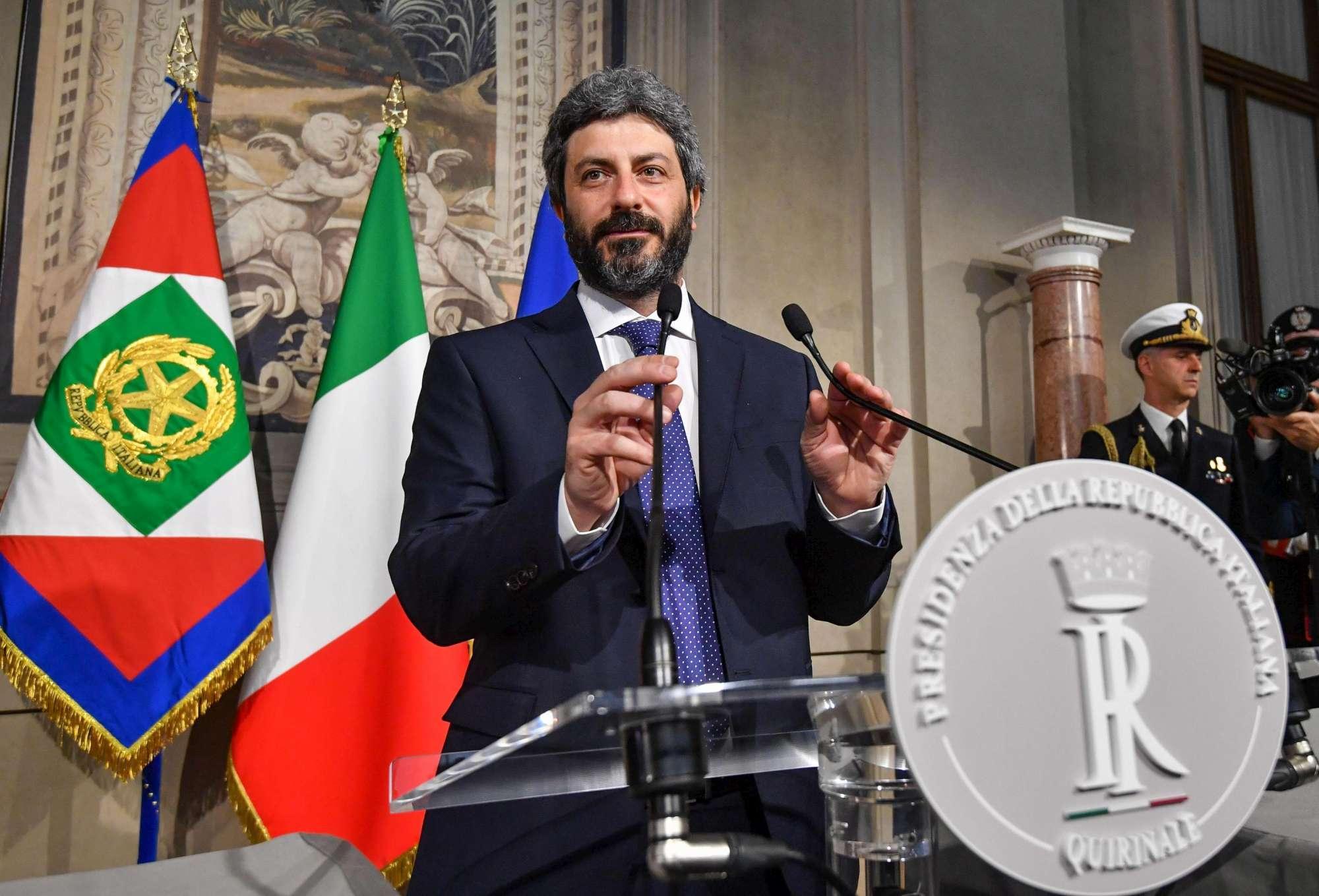 Fico riceve da Mattarella l incarico esplorativo