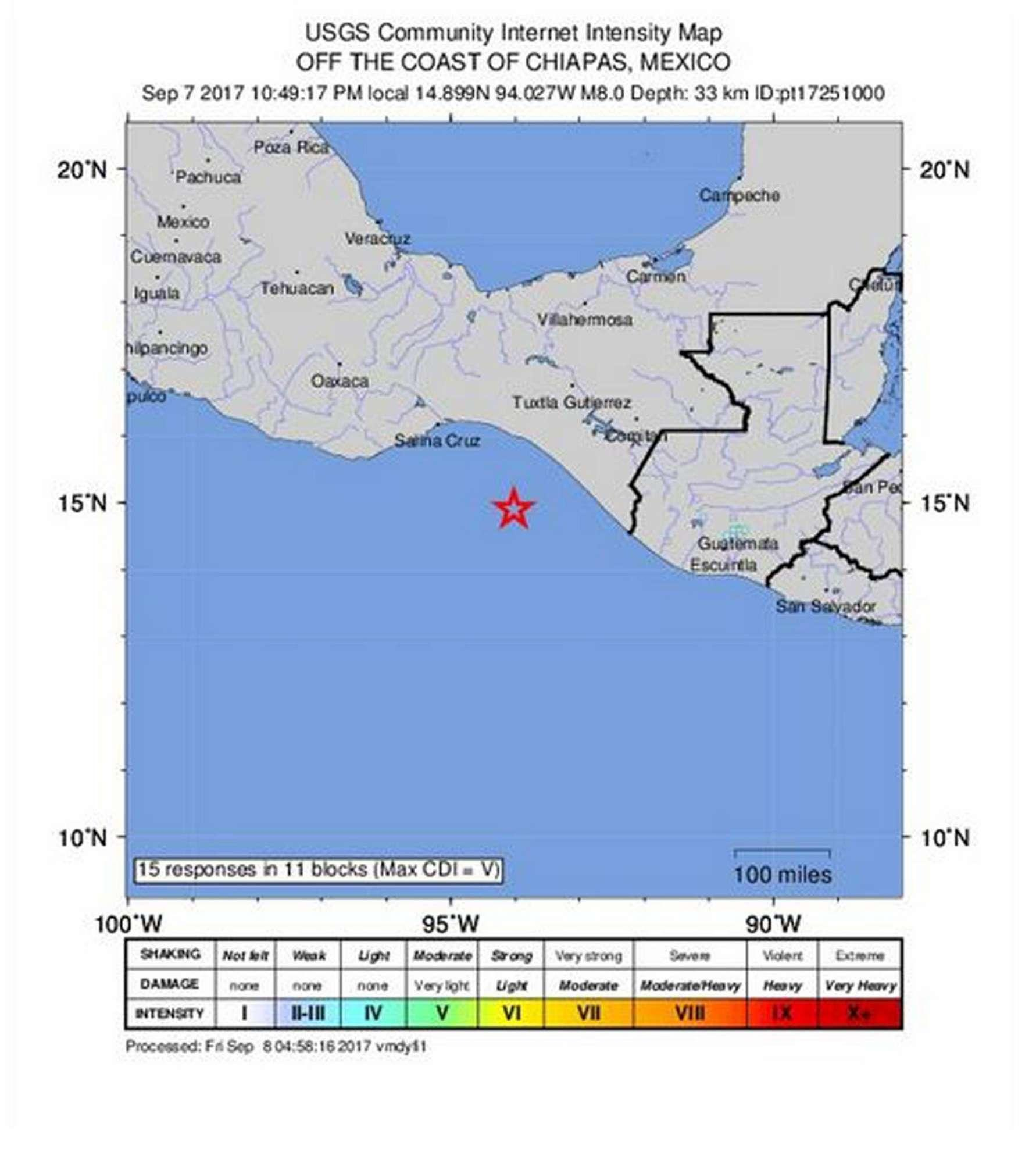 Un forte terremoto devasta il Messico: crolli e vittime