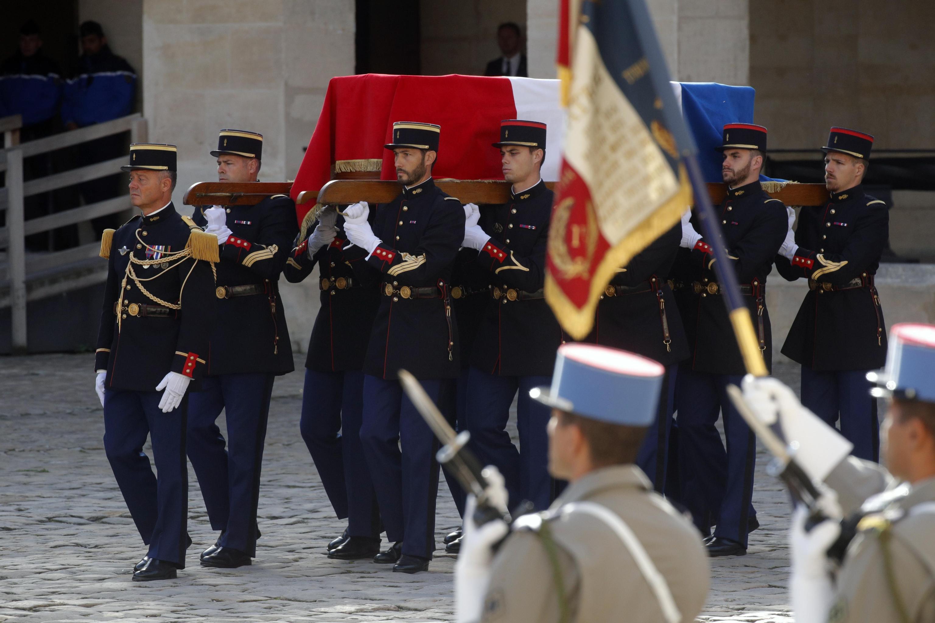 Francia, i funerali dell ex presidente Jacques Chirac