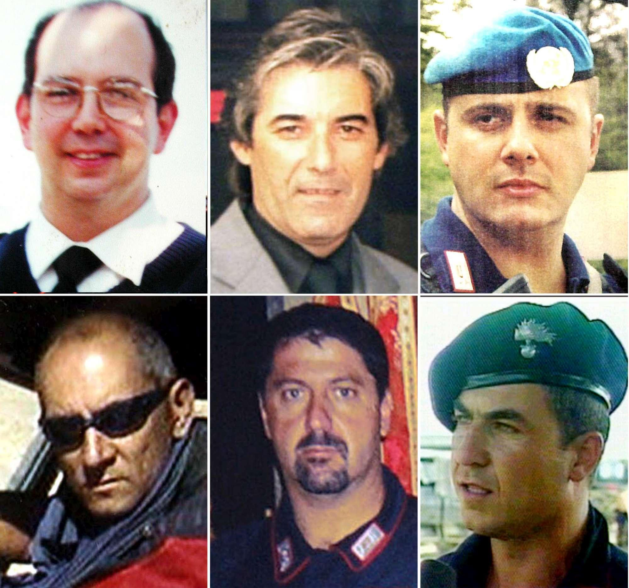 Nassiriya, le vittime italiane dell attentato del 2003