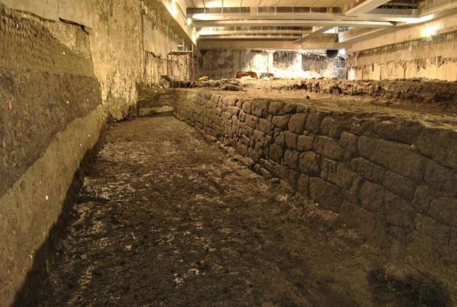 Roma, scoperto il più grande bacino idrico del periodo imperiale