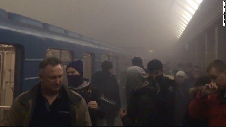 Russia, esplosione nella metropolitana di San Pietroburgo