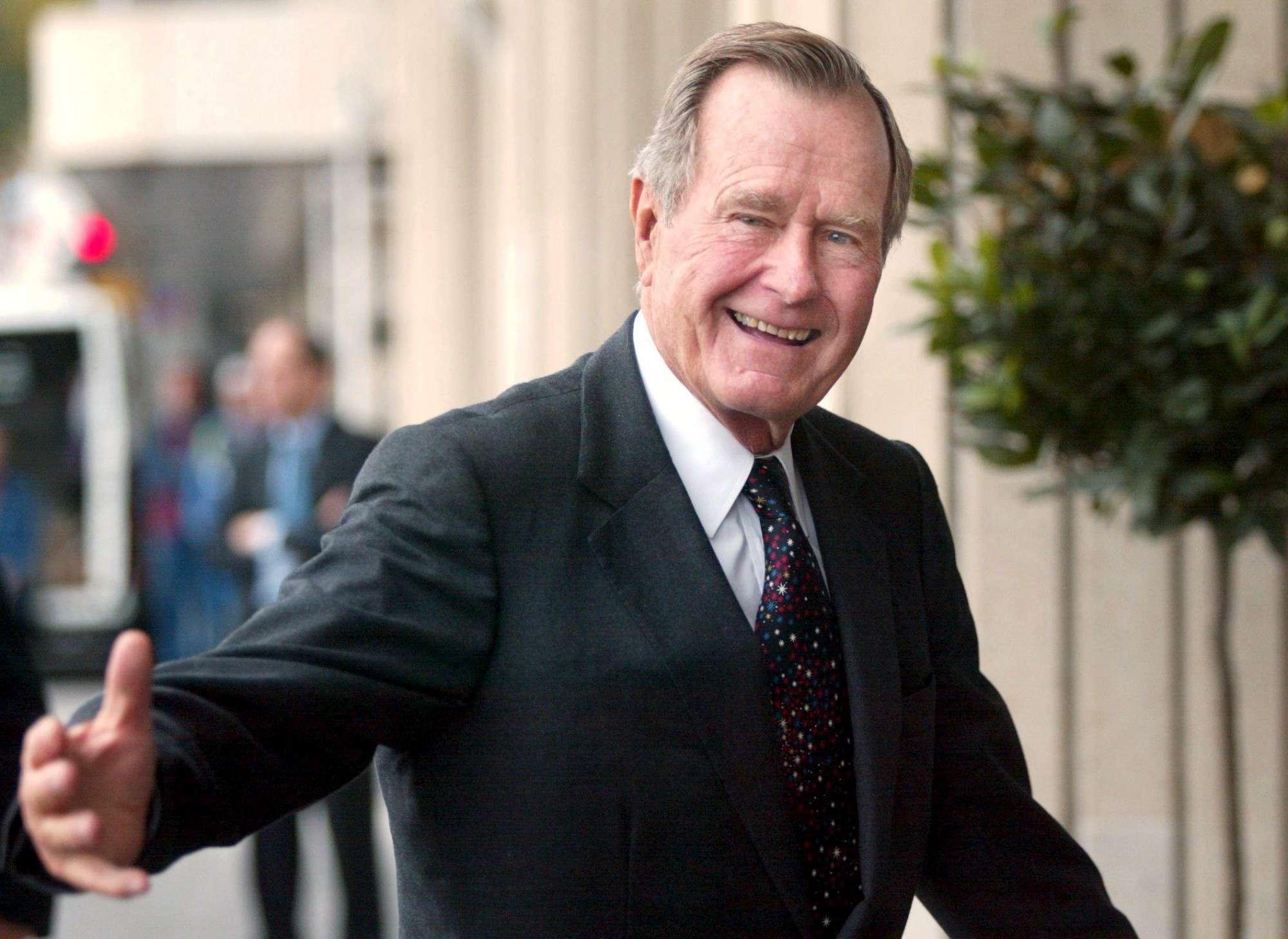 George Bush senior morto a 94 anni: era stato il 41esimo presidente Usa