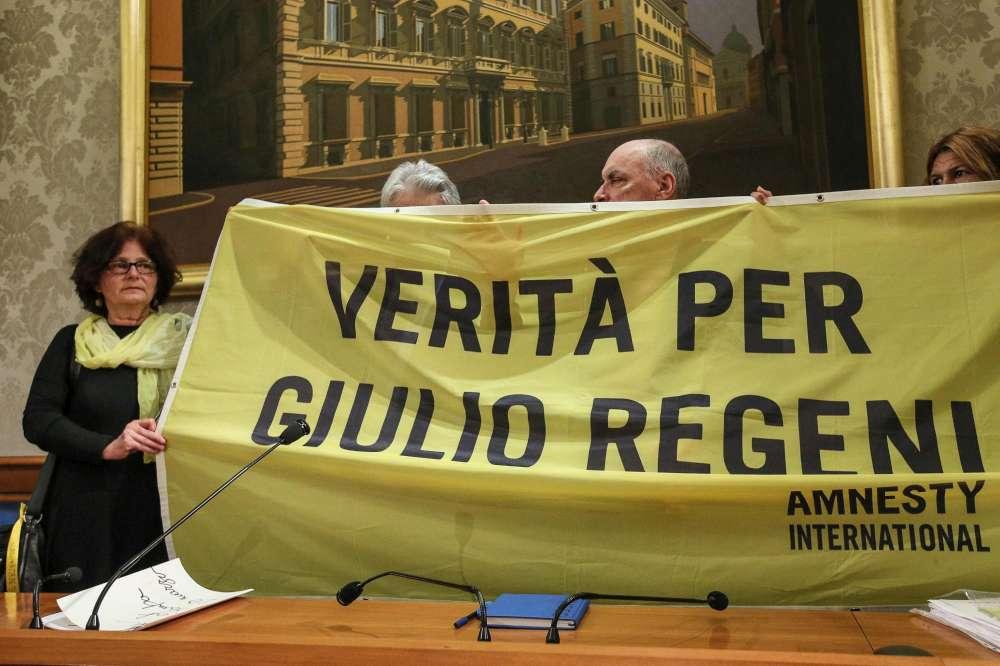 Regeni, i genitori al Senato:  Verità per Giulio
