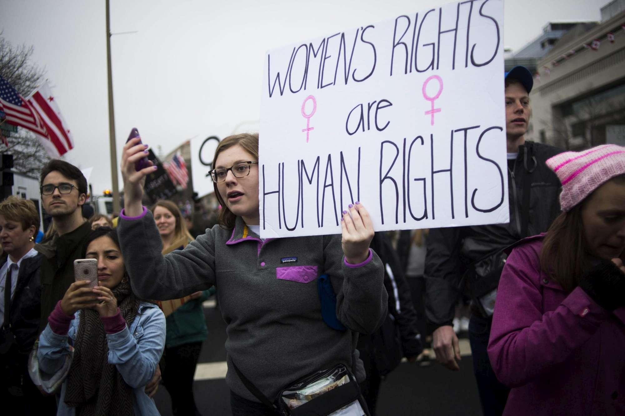 La  Marcia delle donne  contro Trump, in migliaia scendono nelle piazze di tutto il mondo
