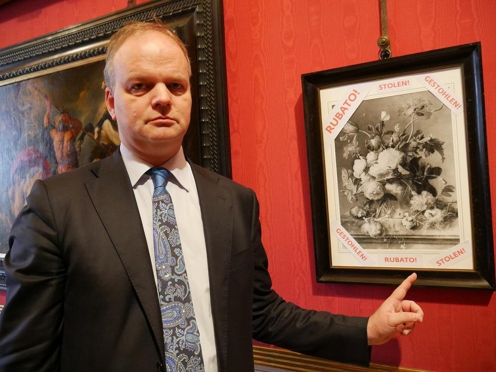 Firenze, il quadro rubato dai nazisti