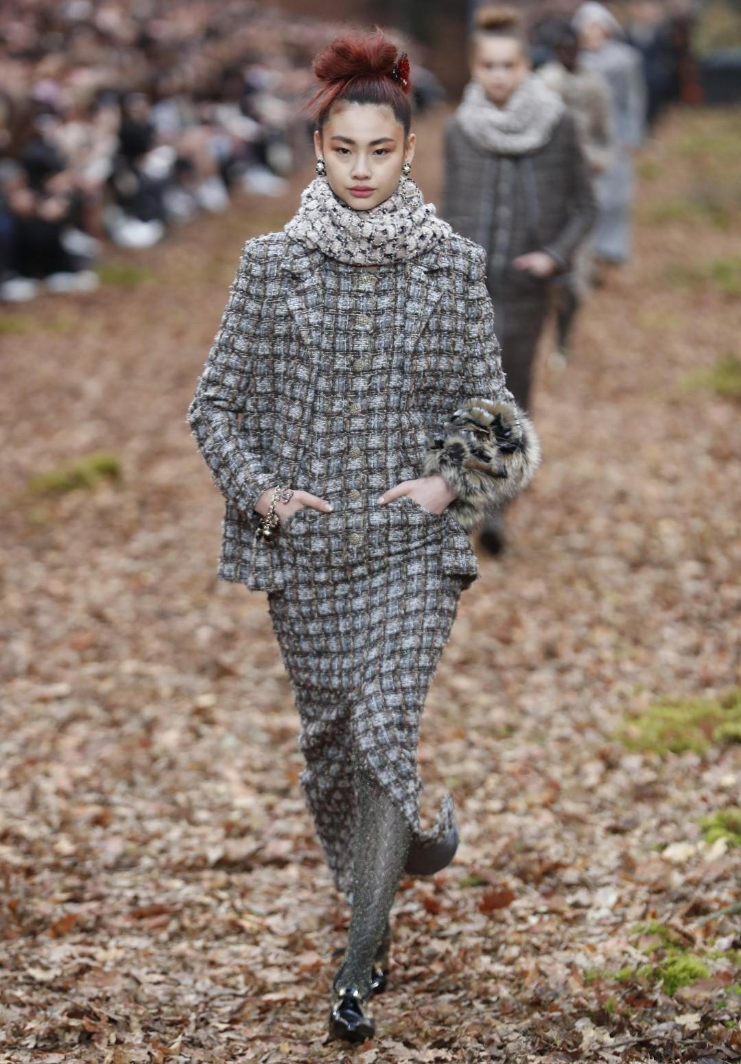 Parigi: la donna Chanel è la regina del bosco