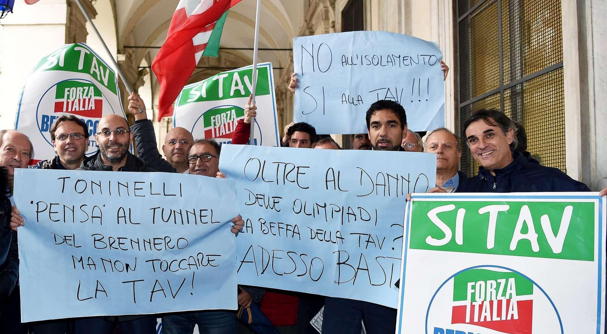 Sì Tav  al comune di Torino:  Non ci ascoltano