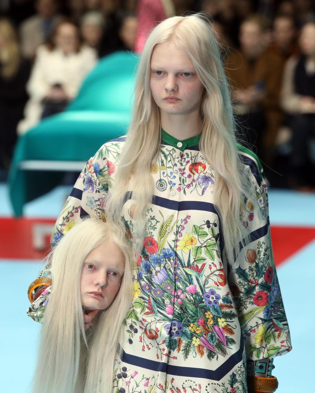 Milano Moda Donna: la sfilata Gucci