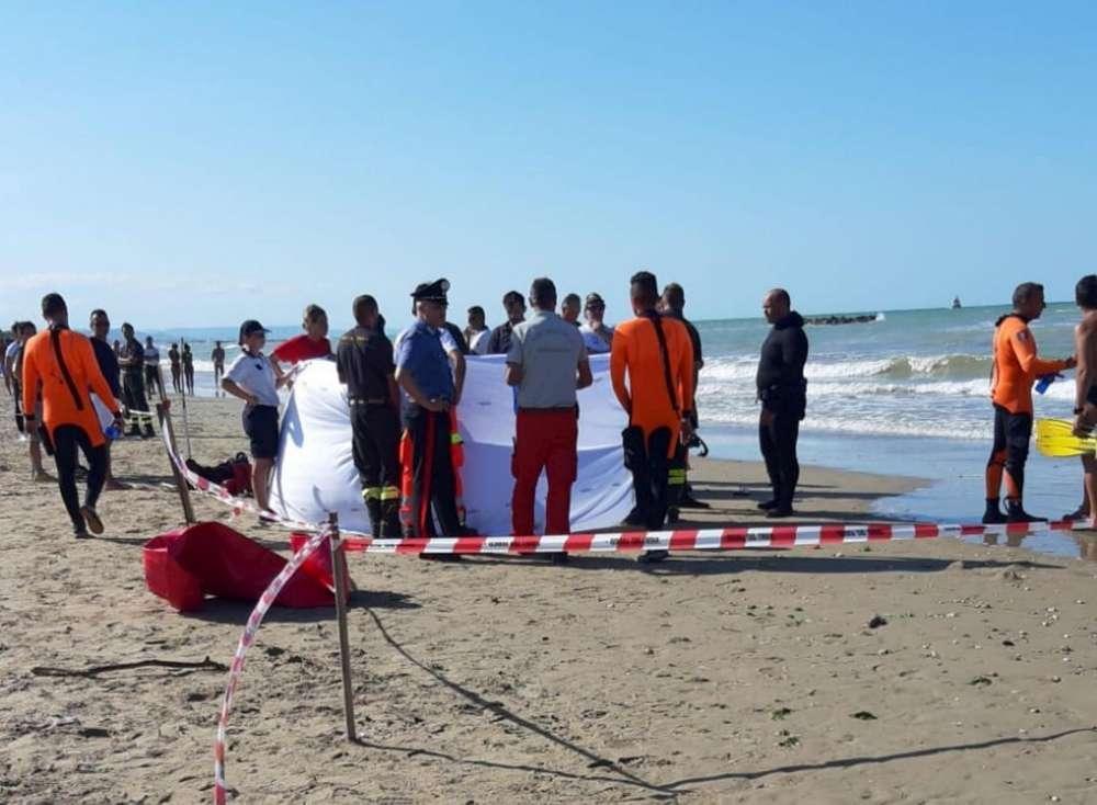 Chieti, trovati morti i due fratellini dispersi in mare