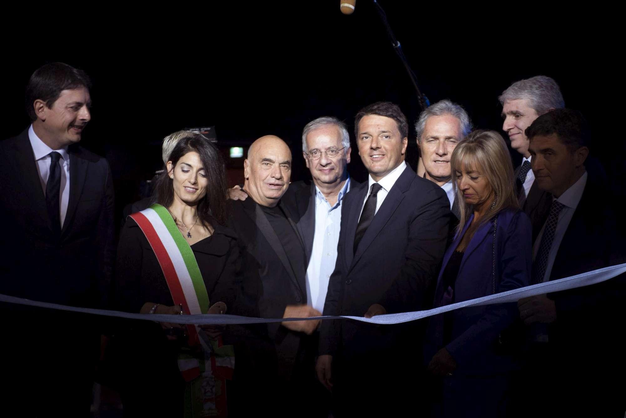 Inaugurata la Nuvola di Fuksas a Roma. E la Raggi accusa sugli sprechi