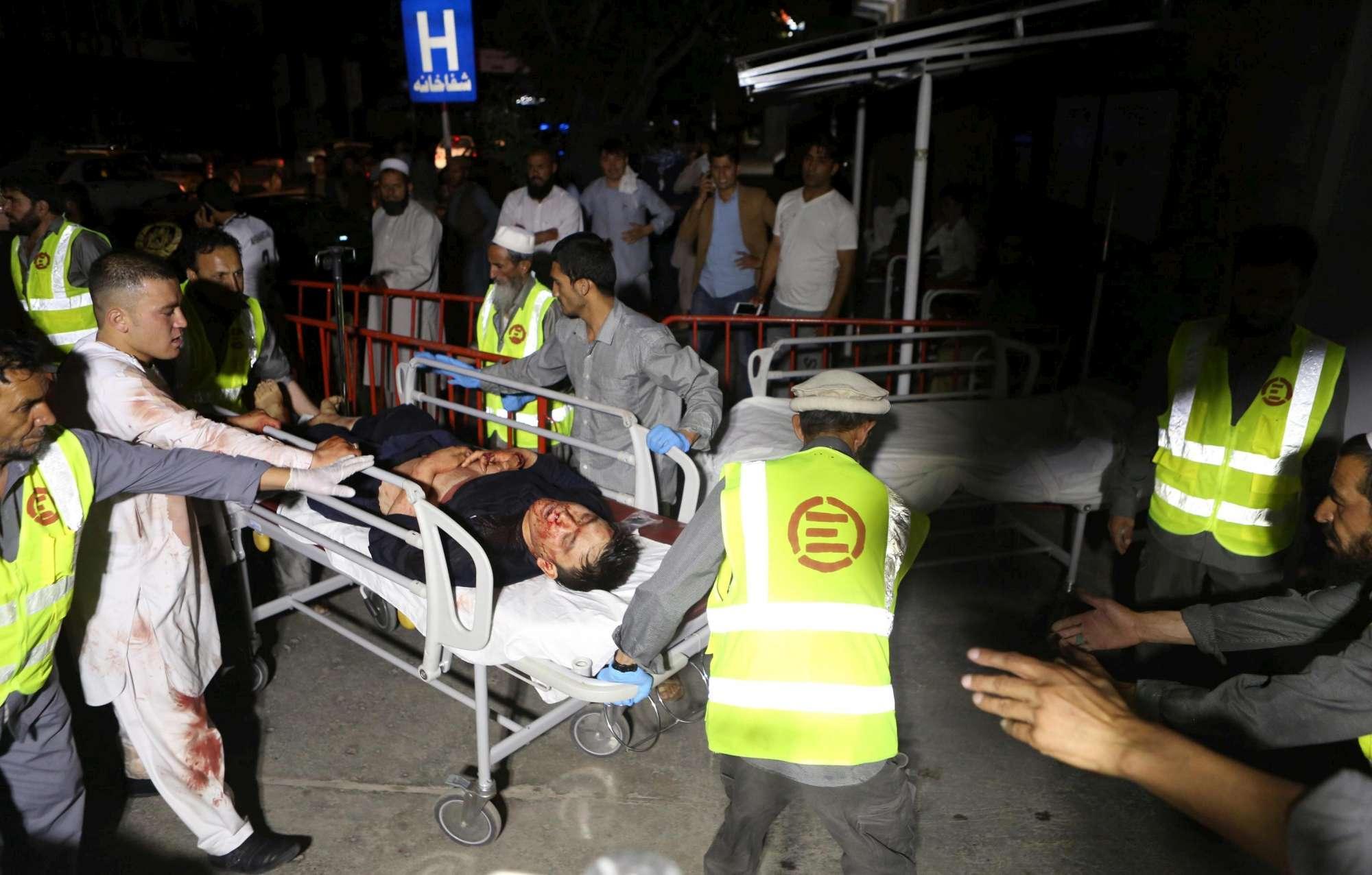Afghanistan, esplosione a un ricevimento di nozze a Kabul