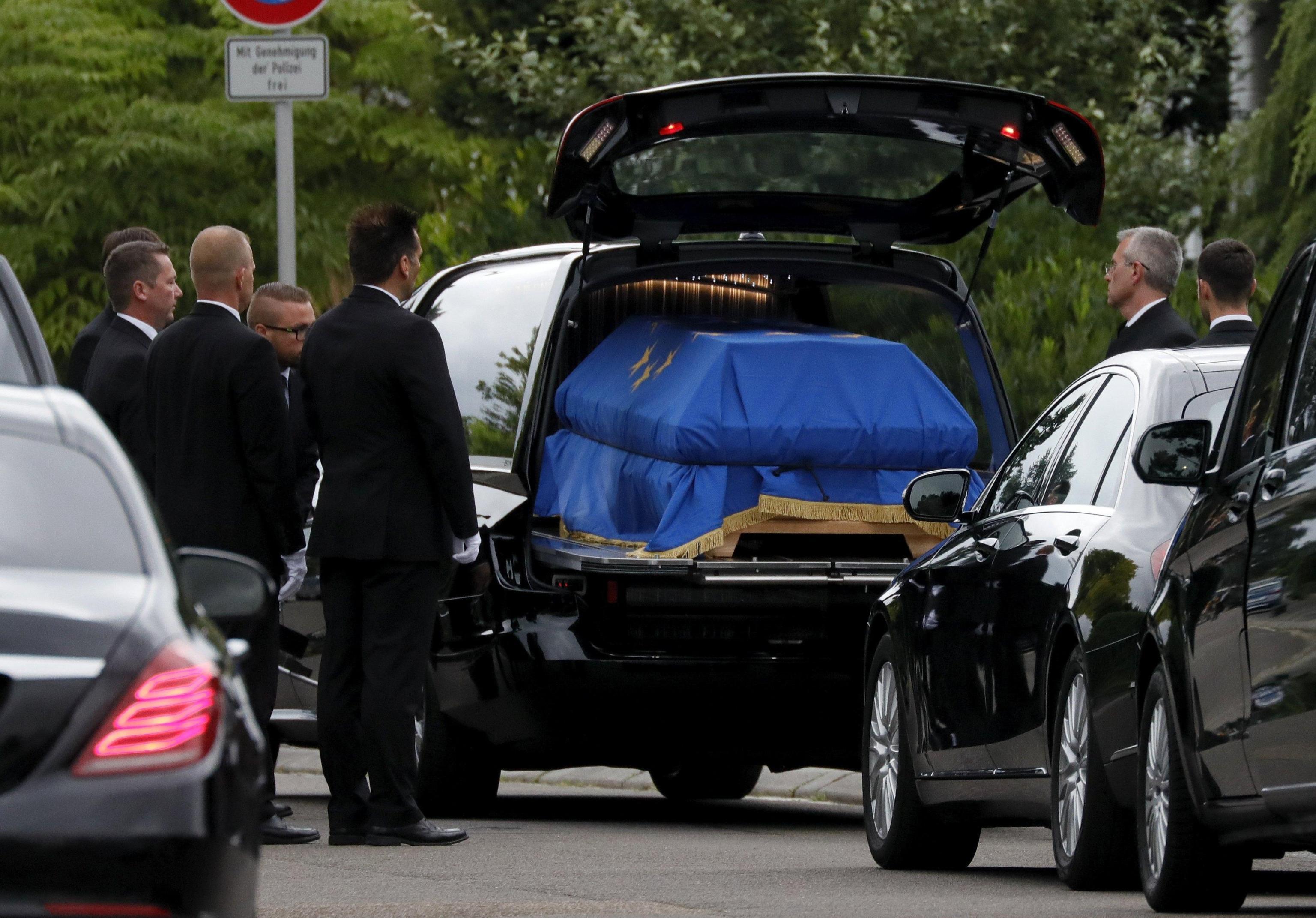 L addio della Ue a Helmut Kohl