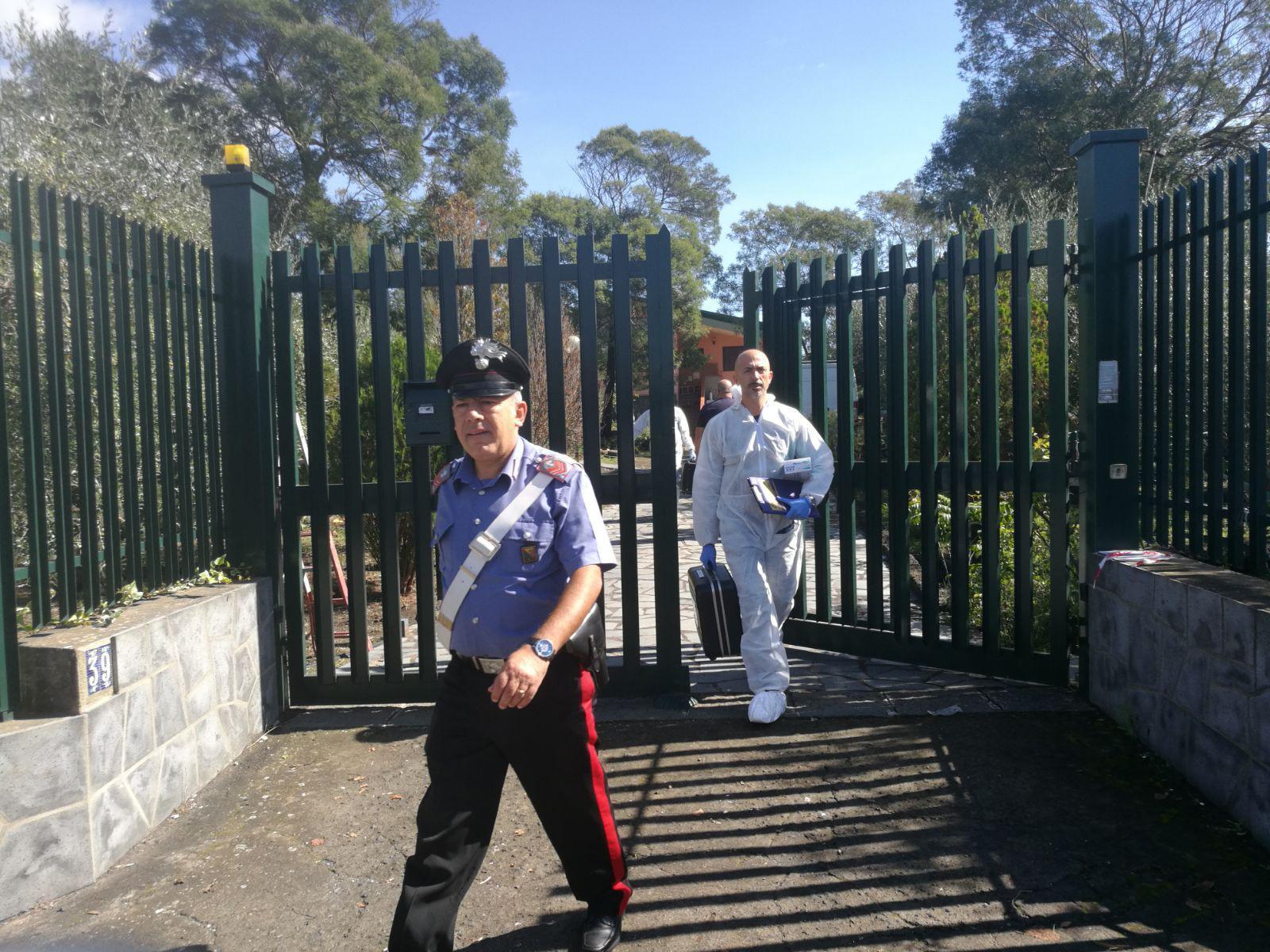 Omicidio Citelli, carabinieri sul luogo del delitto