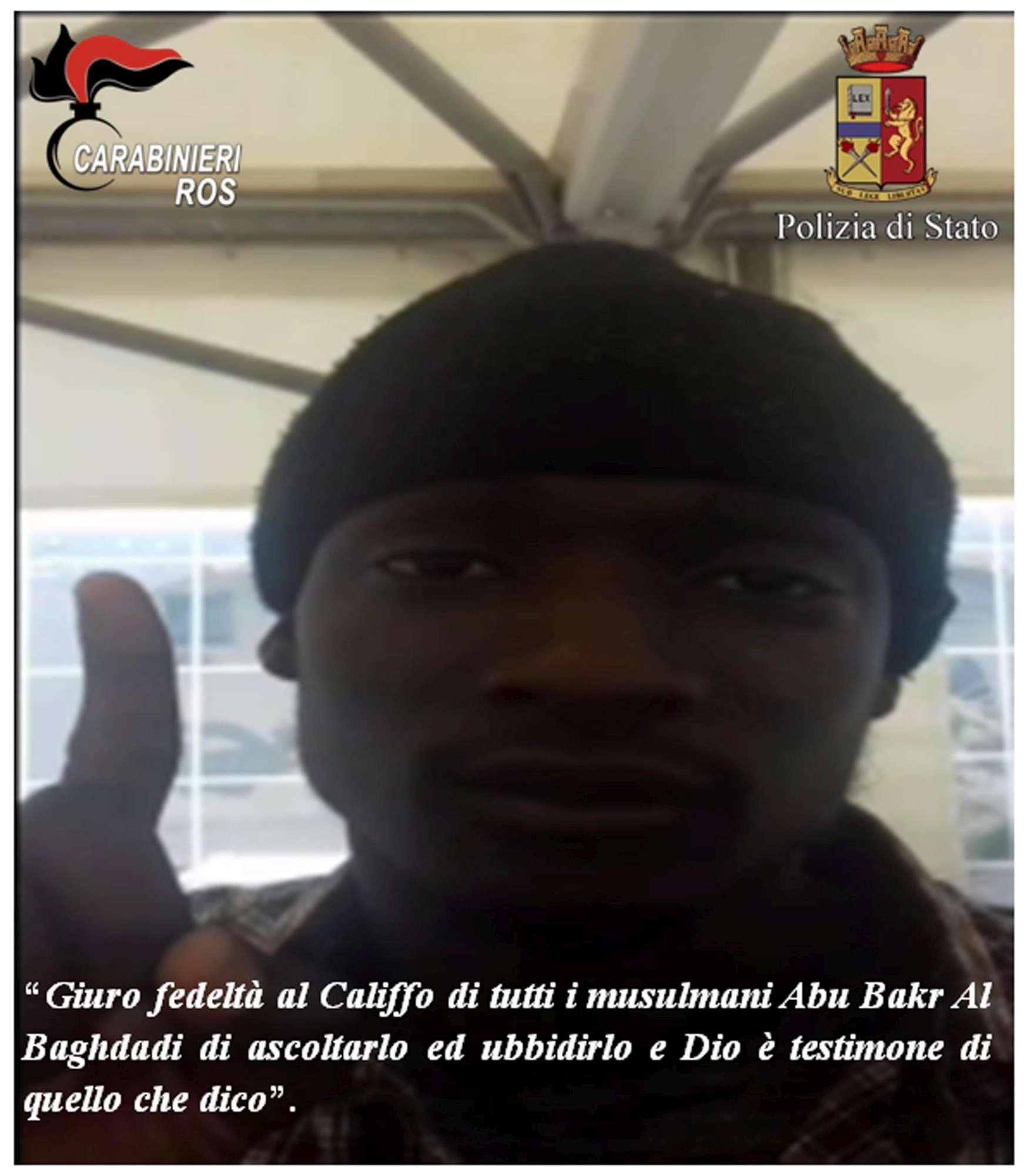 Terrorismo, fermato a Napoli gambiano legato all'Isis