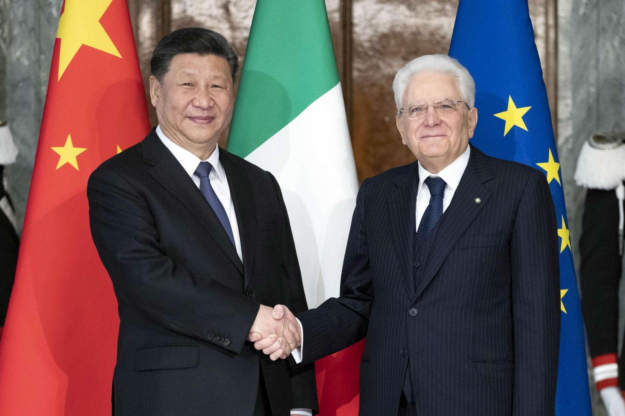 Via della Seta, la visita del presidente cinese Xi Jinping a Roma
