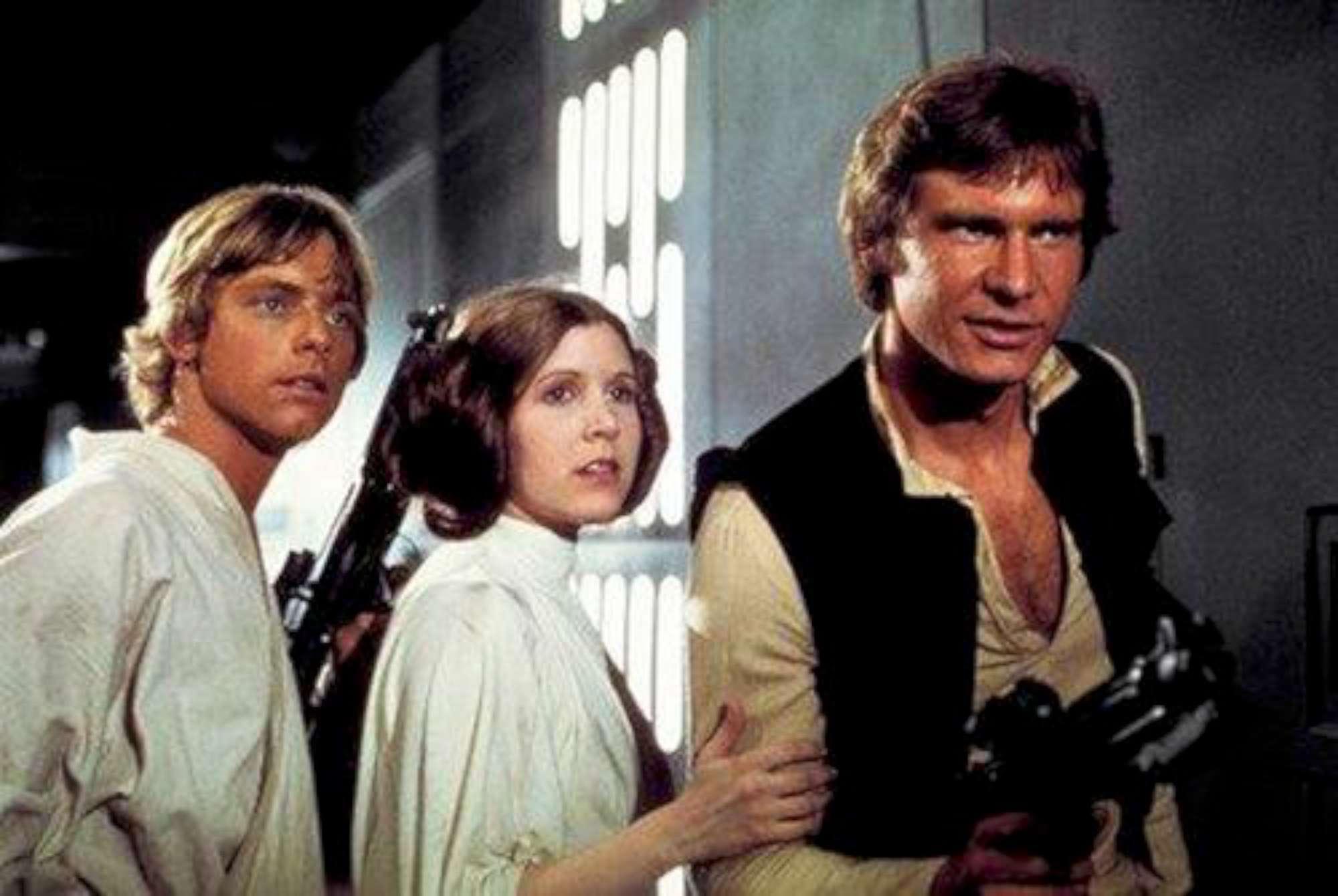 Le eroine di  Star Wars  sexy e senza veli: da Carrie Fisher a Daisy Ridley
