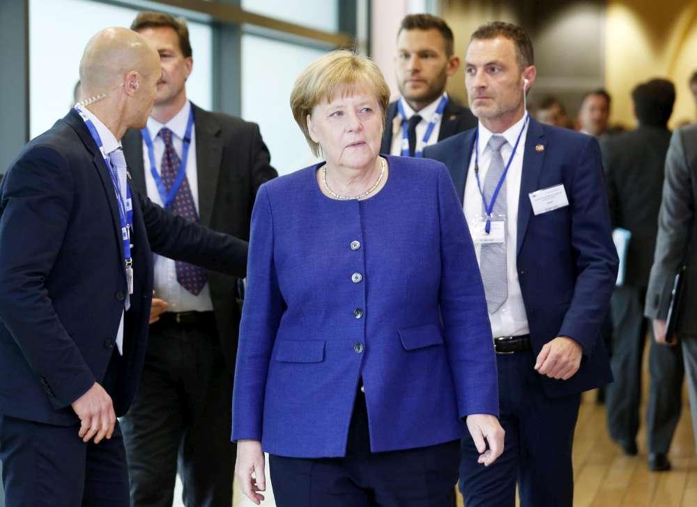 Vertice sui migranti, i capi di Stato europei a Bruxelles