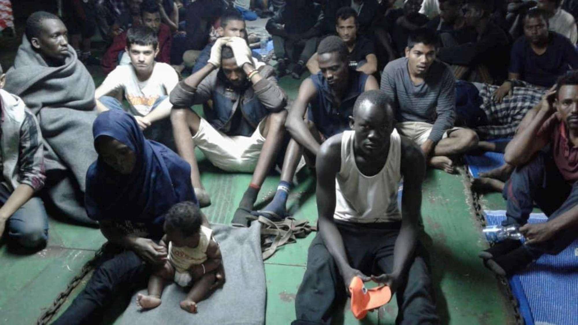 Ong:  Irruzione delle forze libiche sulla Nivin, violenze sui migranti