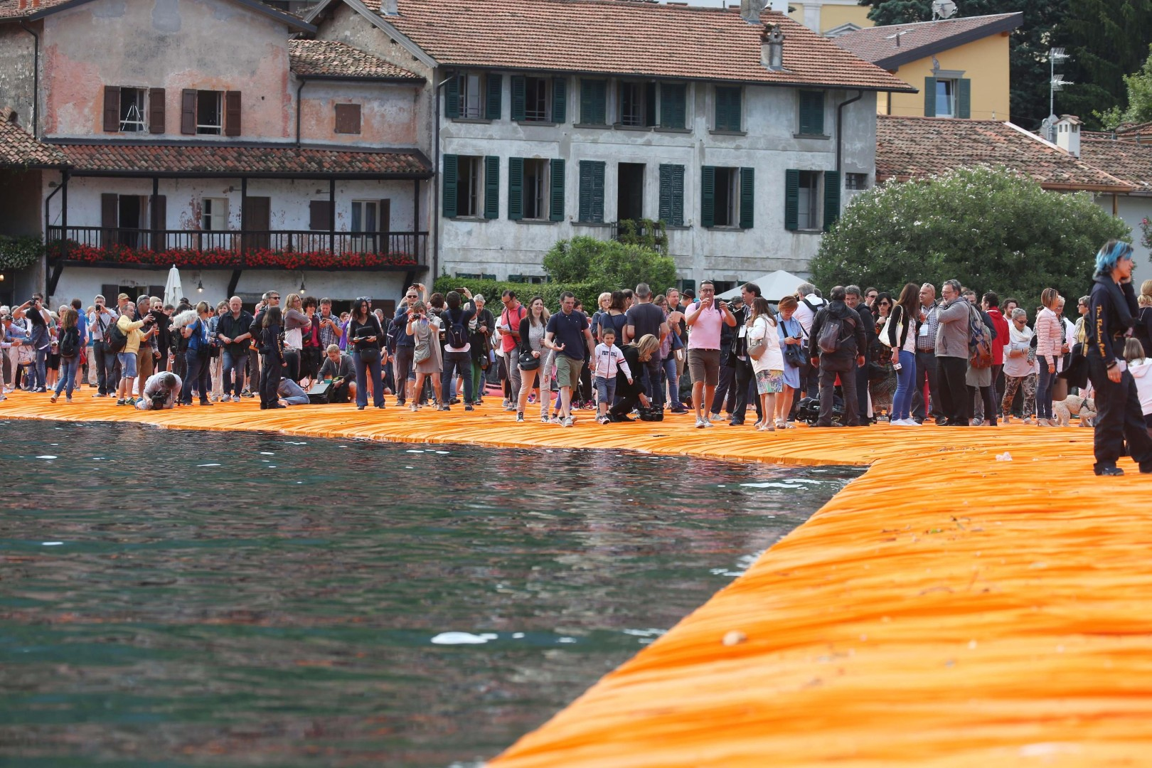 Lago d'Iseo, The Floating Piers: istruzioni per l'uso