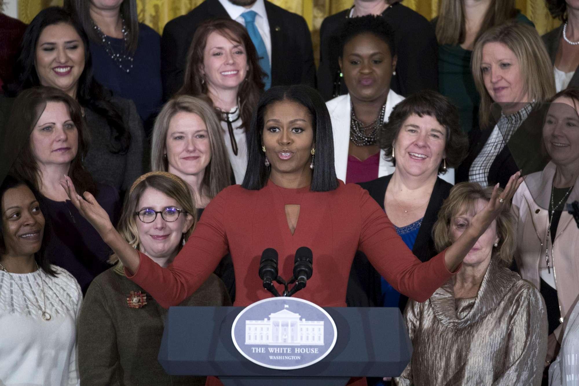 Casa Bianca, il discorso di addio di Michelle Obama