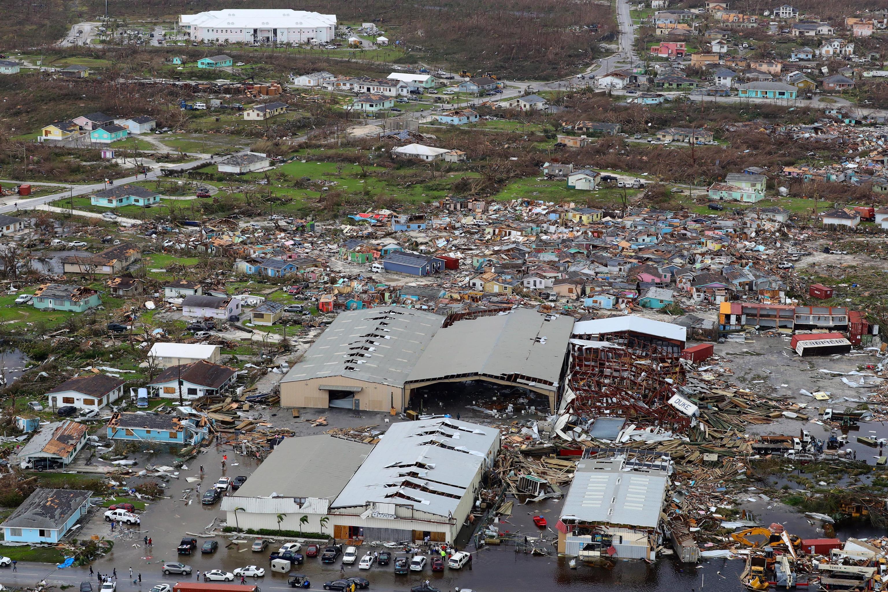 Usa, la devastazione dell uragano Dorian
